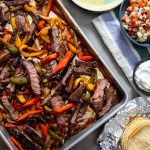 Sheet-Pan Skirt Steak Fajitas Recipe