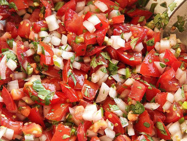 Fresh Tomato Salsa – (Pico de gallo)